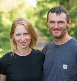 Kurt and Corinna Bench of Shared Legacy Farms Local Line