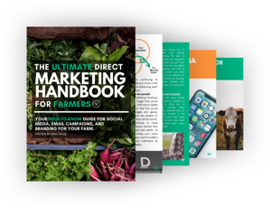 Graphic for the Ultimate Direct Marketing Handbook for Farmers